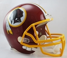 Washington Redskins Riddell NFL Full Size Deluxe Replica Football Helmet