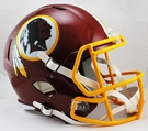 Washington Redskins Riddell NFL Full Size Deluxe Replica Speed Football Helmet