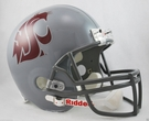Washington State Cougars Riddell NCAA Full Size Deluxe Replica Football Helmet