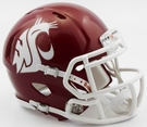Washington State Cougars Speed Riddell Mini Football Helmet