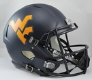 West Virginia Riddell NCAA Full Size Deluxe Replica Speed Football Helmet