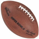 Wilson F1007 Official Leather NFL Super Bowl II Game Football