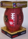 Wilson F1200 Official Leather NFL Game Football - Thanksgiving Day - Cowboys / Redskins
