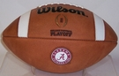 Wilson Official Leather Alabama Crimson Tide F1008 CFP NCAA Official Game Football