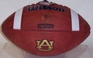 Wilson Official Leather Auburn Tigers NCAA Football - F1009