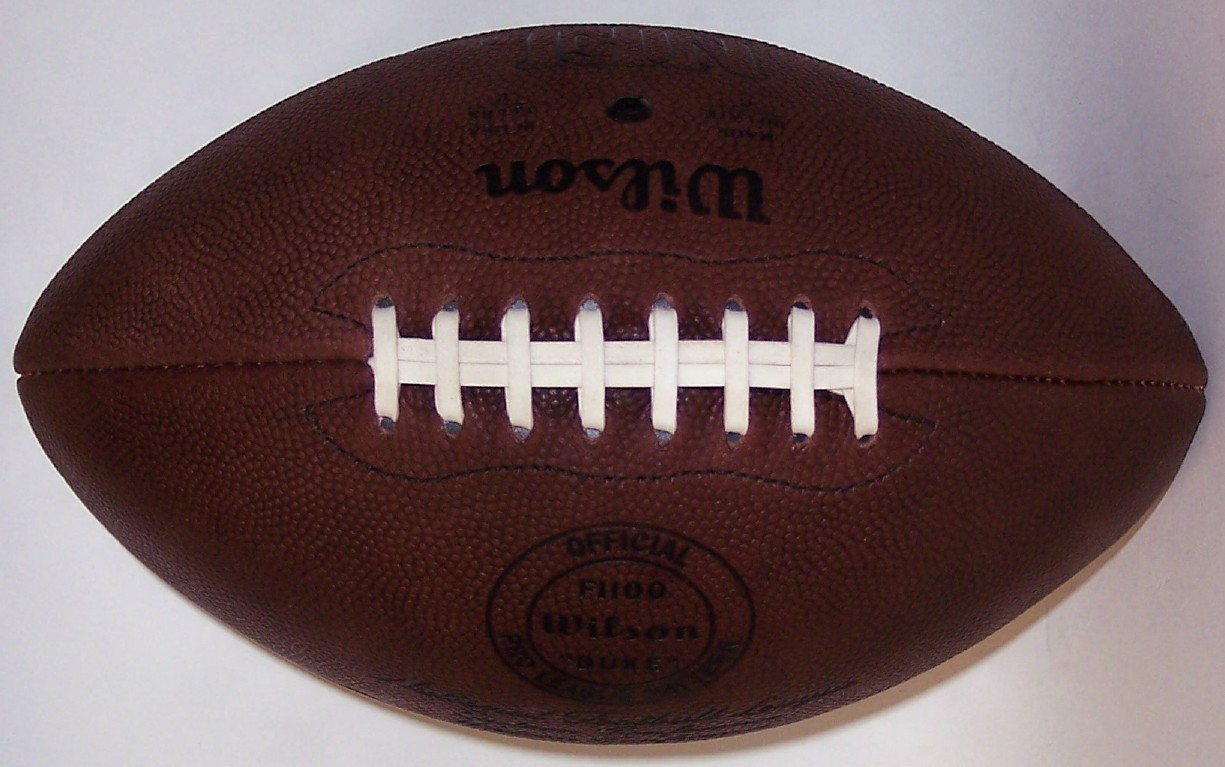 bbc94612336 Wilson Official Leather NFL