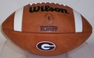 Wilson Official Leather Georgia Bulldogs F1008 CFP NCAA Official Game Football