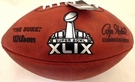 Wilson Official Leather NFL® SUPER BOWL XLIX Full Size Game Football