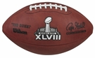 Wilson Official Leather NFL® SUPER BOWL XLVIII Game Football