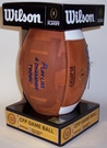 Wilson Official Leather Notre Dame F1008IDG NCAA Football - PLACT