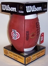 Wilson Official Leather Ohio State Buckeyes F1009 CFP NCAA Official Game Football