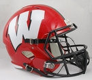 Wisconsin Badgers Riddell NCAA Full Size Deluxe Replica Speed Football Helmet