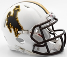 Wyoming Cowboys Speed Revolution Riddell Mini Football Helmet