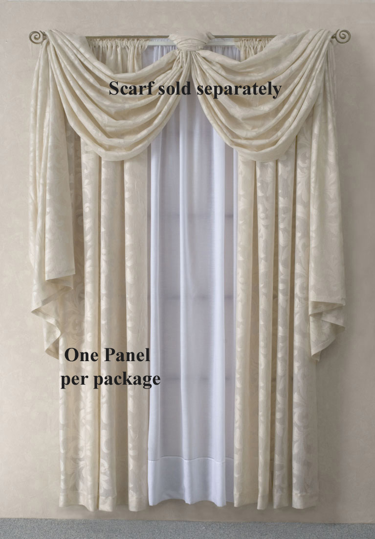 Superior Sheer Scarf Valance Window Treatments Part - 7: Scarf Valances