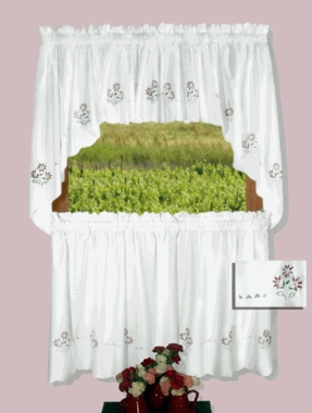 Molly Tier Curtains -  CLEARANCE