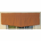 "50""W x 15""L Corded Insert Valance - Colburn  - CLEARANCE"