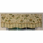"50"" Wide Double Scallop Valance - Felice/Fairbury - SOLD OUT"