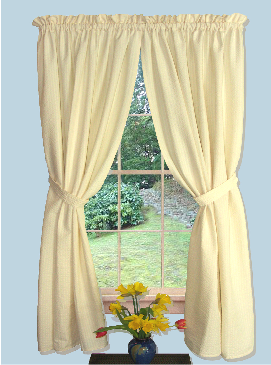 63 Curtains With Valance Home The Honoroak