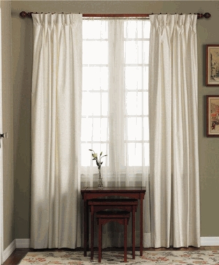 Fireside Pinch Pleat Thermal Drapery Pair - CLEARANCE