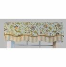 Fairbury Springwater/Felice Springwater Double Scallop Valance  - CLOSING OUT
