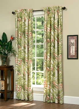 Rod Pocket Curtain Pair - Cozumel by Thomasville