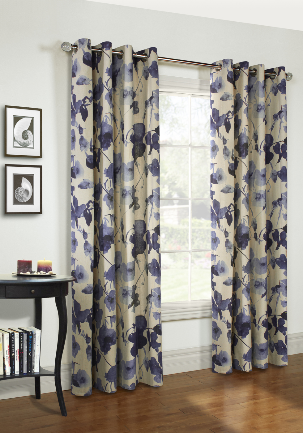 Abrielle Linen Blend Grommet Curtain Panel