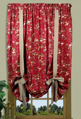 "Climbing Roses - Adjustable 63"" Tie-Up Panel - SOLD OUT"