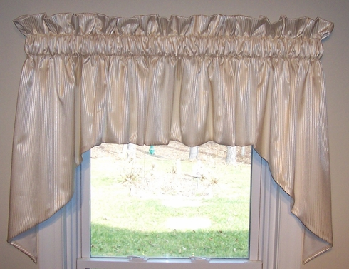 """Amalfi Swag Valance  102""""W X 36""""L  - SOLD OUT"""