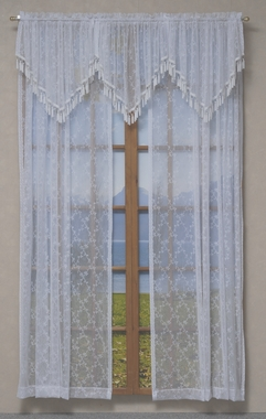 Ascot Valance - Lattice Lace