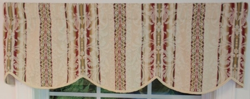 Athens Cornice Valance - CLEARANCE