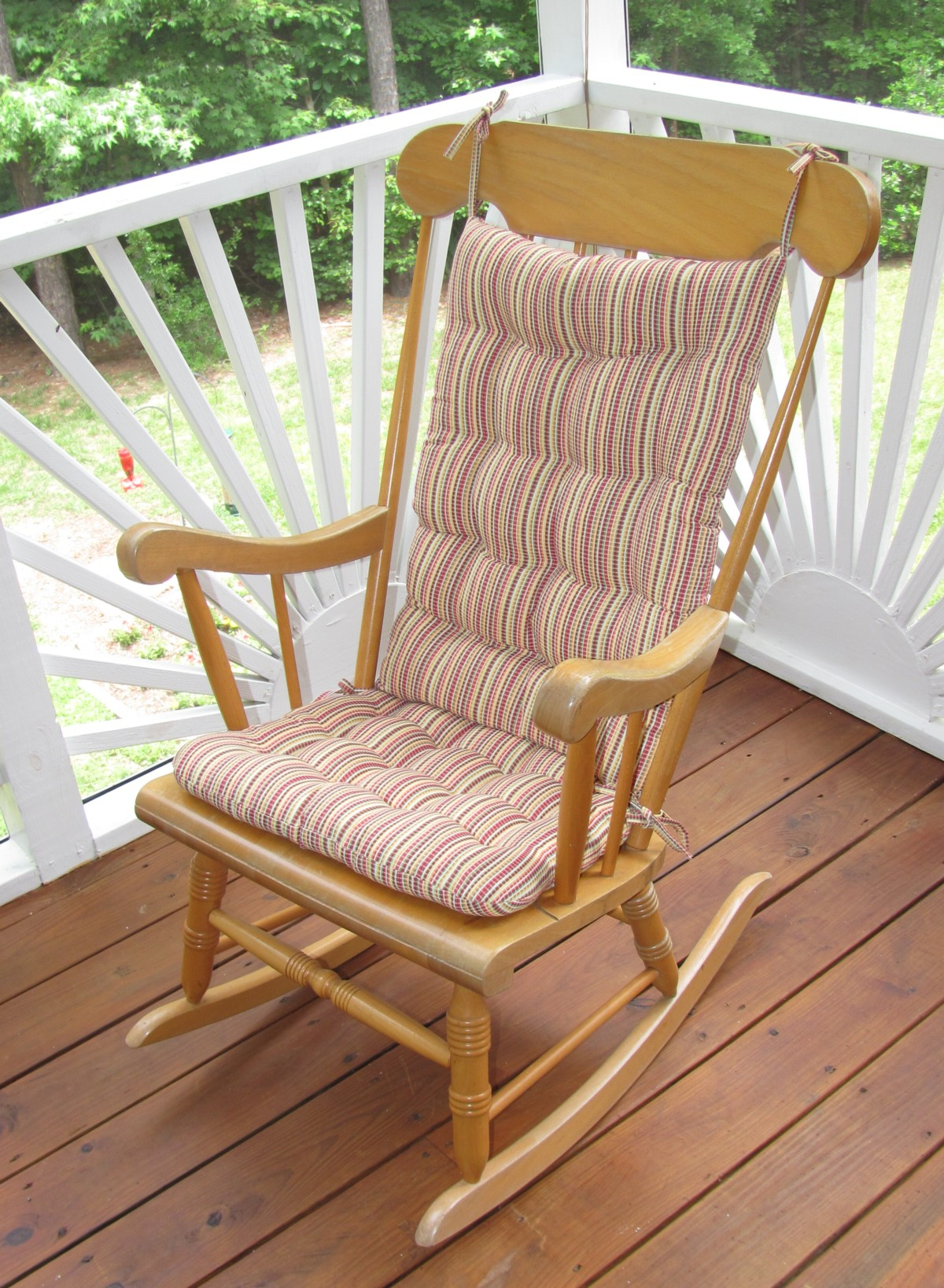 Magnificent Rocking Chair Cushion Sets And More Clearance Machost Co Dining Chair Design Ideas Machostcouk