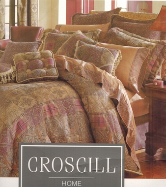 Bartlett King Comforter Set - Croscill - CLOSE OUT