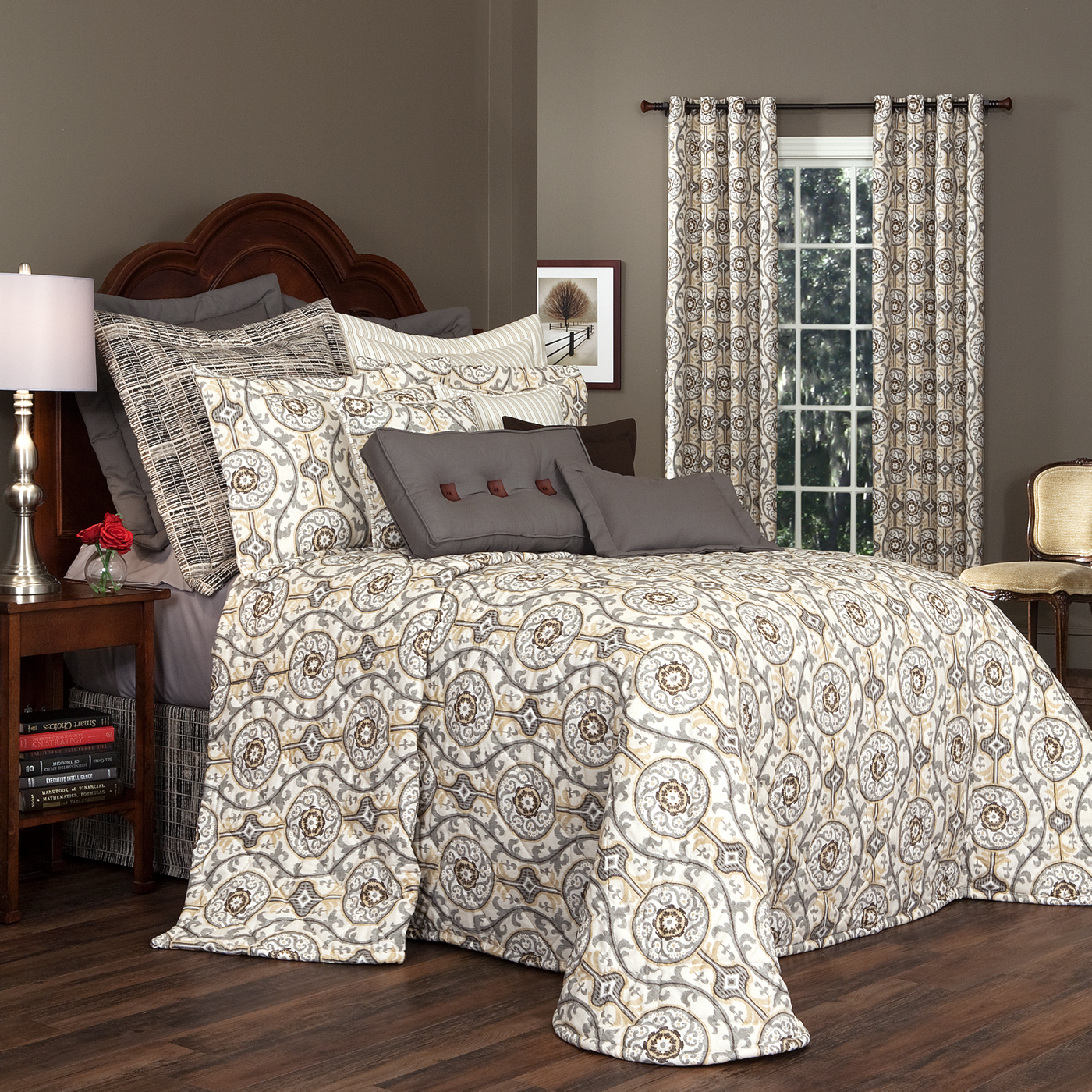Quilted Bedspread Izmir By Thomasville