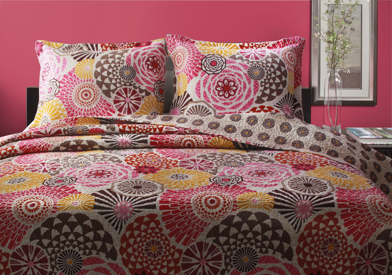 Bianca Quilted Pillow Shams And Throw Sold Out