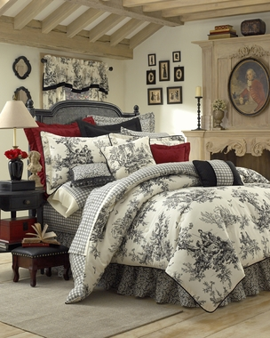 Bouvier Black Comforter Set by Thomasville