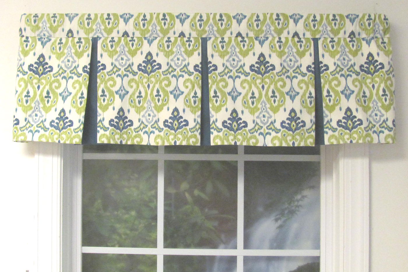Box Pleat Valance Almost Custom Select Zoom