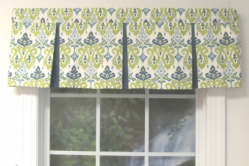 Box Pleat Valance Almost Custom Custom Select