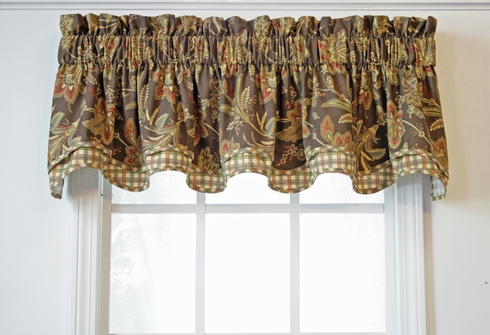 Barano Green Bradford Valance - Green - Closing Out