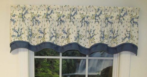 Francesca Blue Bradford Valance SOLD OUT