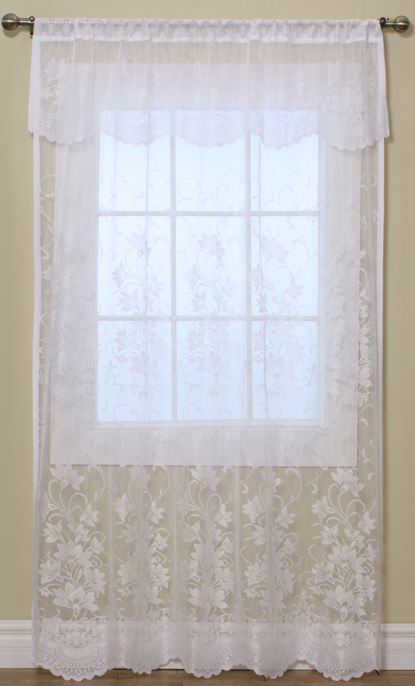 Lace Curtains - Traditional and Insulated Styles