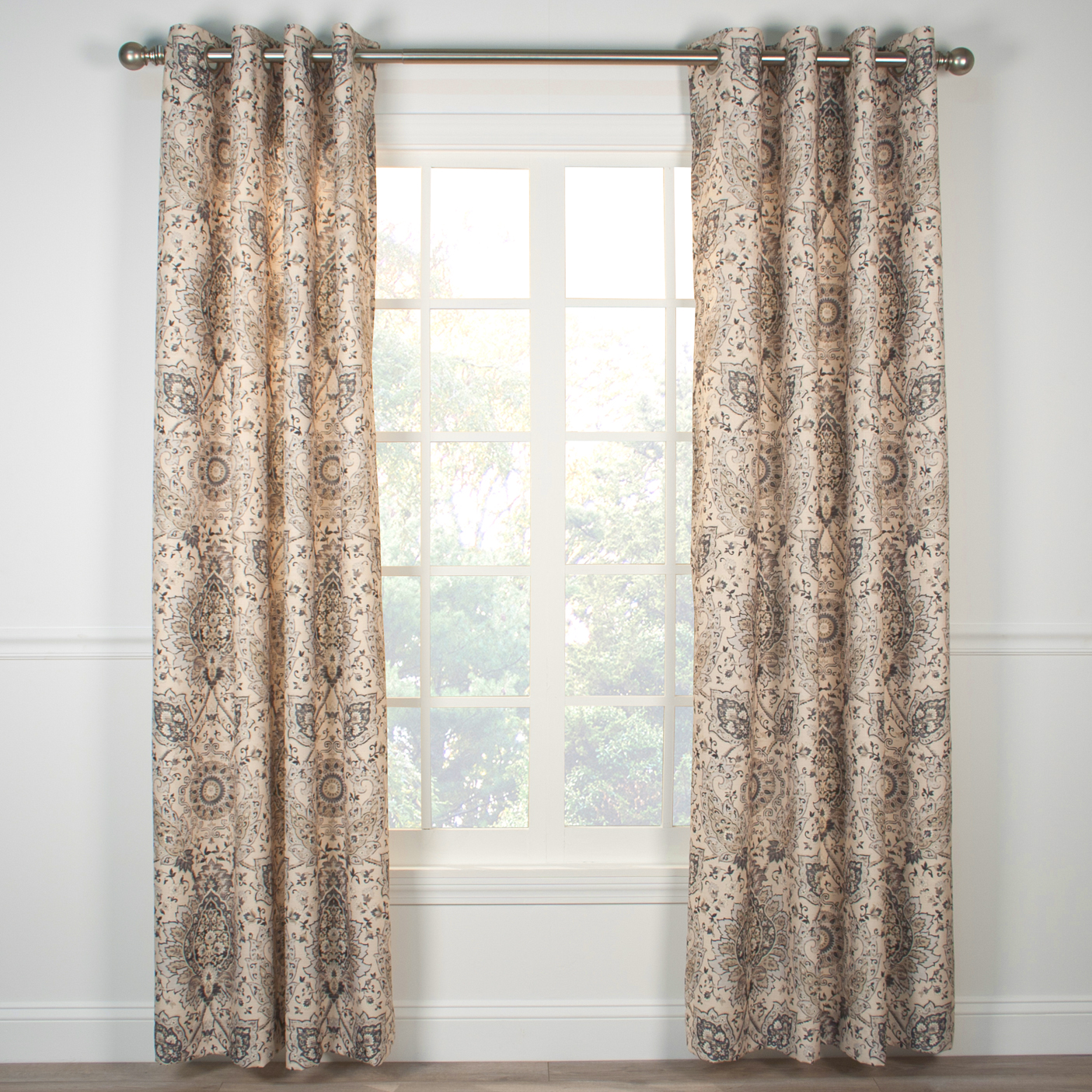 Completely new Indoor & Outdoor Grommet Top Curtains and Panels - TheCurtainShop.com GD71