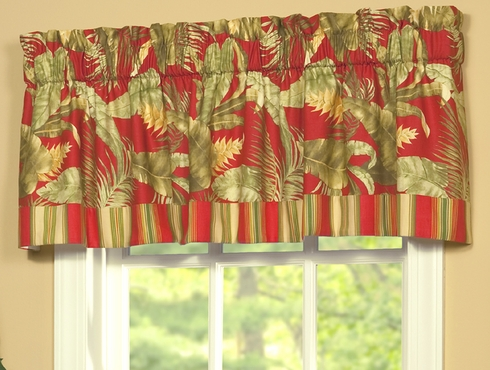 Tailored Valance with Band - Captiva by Thomasville