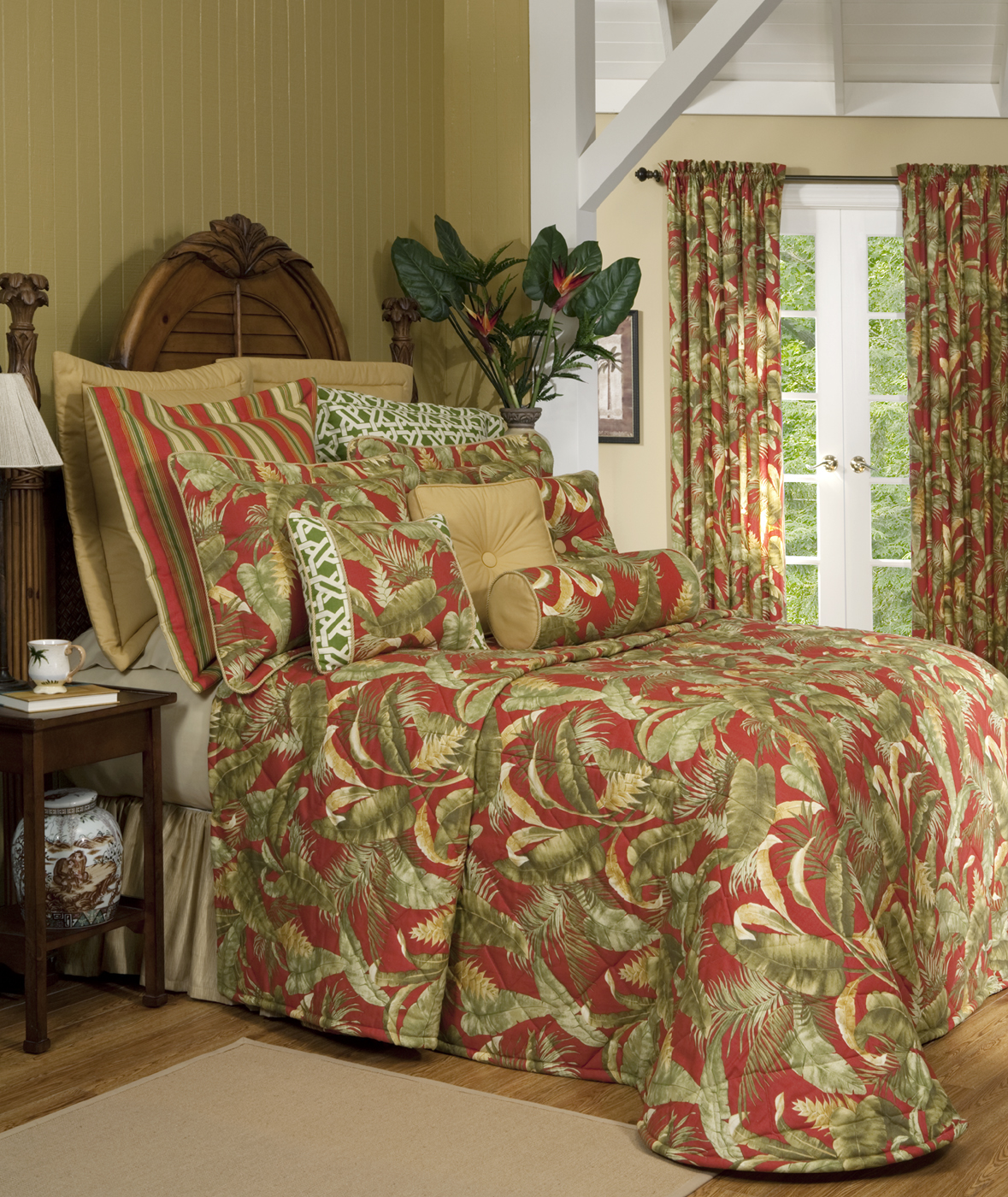 Bedspreads.Quilted Bedspread Captiva By Thomasville