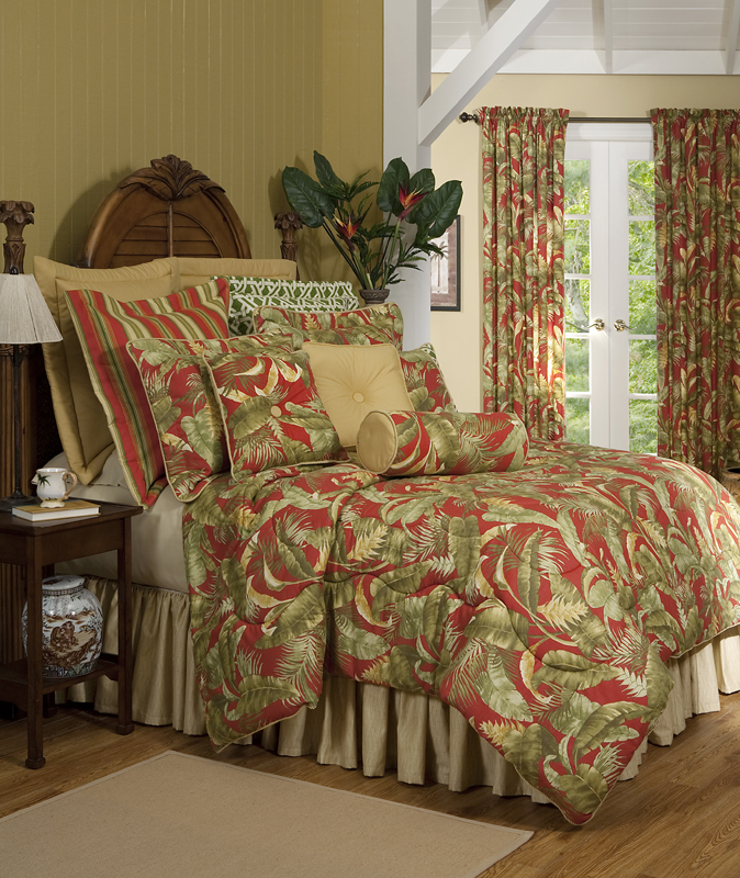 Comforter Set Bedding Curtain Valance - The Curtain Shop