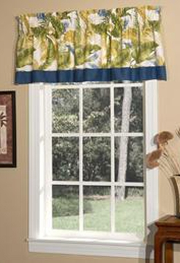 Tailored Valance with Band - Cayman by Thomasville