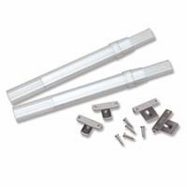 CLEAR Sash Rod Pair - 20 to 36 inch - Graber