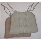 Corded Chairpad with Ties - Colburn - SOLD OUT