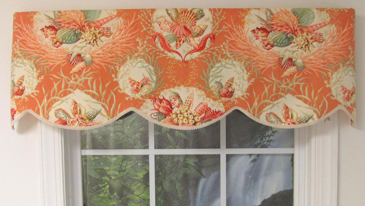 decorating valance moorish waverly panel home with orange panelnets your treatments curtains cabinets modern depot lowes using windows window kitchen curtain for valances