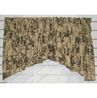 Palmer Toile  -  Crescent Valance - Green - SOLD OUT