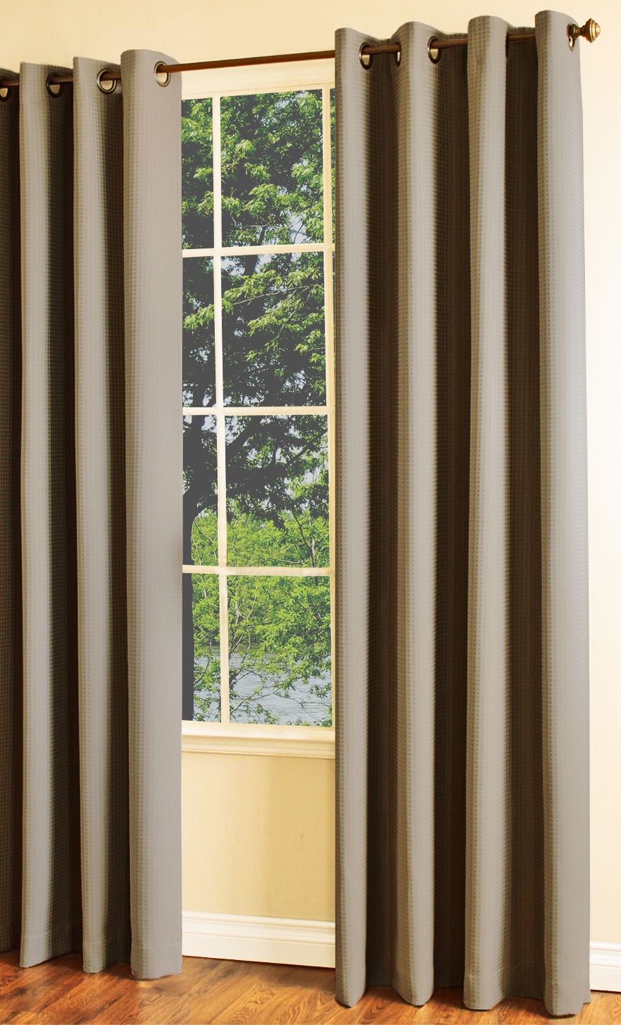 Indoor & Outdoor Grommet Top Curtains and Panels - TheCurtainShop.com